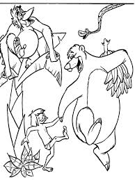 jungle book coloring pages download print jungle book