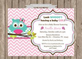 charming owl baby shower invitations for 72 for personalized