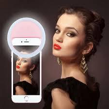 lights when phone rings beauty selfie light ring photo shoot selfie night light 36 led