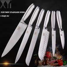 couteaux professionnels de cuisine xyj professionnel conception cuisine couteau ensembles de cuisson en