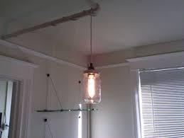 easy cheap hanging jar light 4 steps