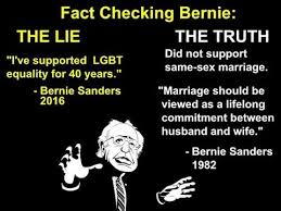 Marriage Equality Memes - debunking ridiculous anti marriage equality bernie sanders meme