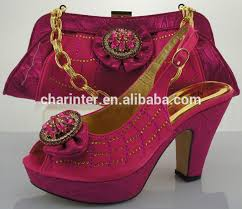 wedding shoes and bags 2015 matching italian shoes and bag set italian fashion wholesale