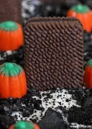 Halloween Cake Graveyard by Graveyard Dirt Cake