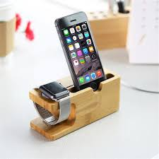 Charging Station For Phones Bamboo Charging Dock Station For Iphones And Iwatch U2013 The Creative