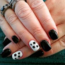 easy short nail artshortnailsart nail art spaceartnailsart art