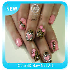cute 3d bow nail art android apps on google play