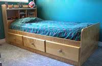 mate u0027s twin bed captain u0027s bookcase headboard plans