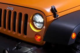 stock jeep headlights truck lite led headlight kit for 07 17 jeep wrangler u0026 wrangler