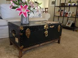 Trunk Like Coffee Table by Vintage Trunk Coffee Table Home Design Ideas