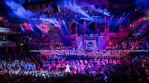 christmas festival royal albert hall jonathan cohen and alison jiear with the london concert orchestra and london concert chorus performing during