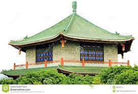 asian chinese classic house ancient architecture stock photo