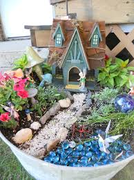 fairy garden blue pebbles for water my shed is going to need