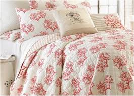 Coastal Bedding Sets Coral Reef Bedding Lovely Coral Coastal Bedding Sets