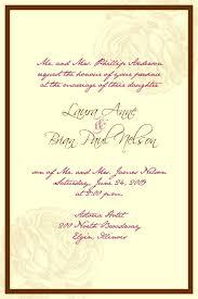 Invitation Card Message Best Wedding Invitation Message For Friends Broprahshow