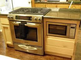oven and cooktop in island 30