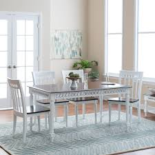 Cottage Dining Room Sets by Finley Home Milano Dining Table Hayneedle