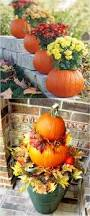 Outdoor Fall Decor Ideas - outdoor lighted pumpkin decorations sacharoff decoration