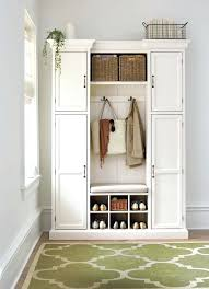 Entryway Cabinet With Doors Hallway Storage Cabinets Storage Coat And Shoe Storage Ideas