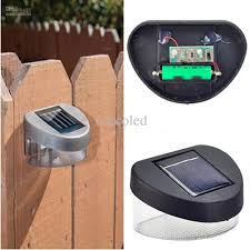 Solar Powered Fence Lights - solarmanglam solar