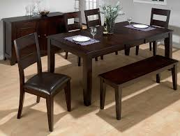 Cheap 5 Piece Dining Room Sets Captivating Dining Room Table Sets With Bench With Latest Home
