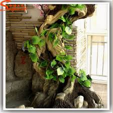 made in china realistic artificial tree trunk decoration