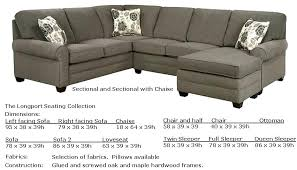 Double Chaise Sectional Sectional Sectional Sofa With Two Chaise Cheswick Reversible Two