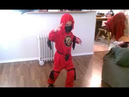 Ninjago Halloween Costume Boy Smile Halloween Costume Kai Ninjago