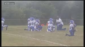 Triad Flag Football Youth Football Team Kneels During National Anthem Wfmynews2 Com