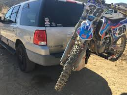 motocross bike carrier bike rack on back of a car moto related motocross forums