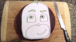 pj masks gecko cake