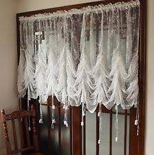 embroidered sheer curtains ebay