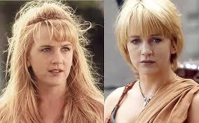 zena the warrior princess hairstyles xena warrior princess gabrielle hair chop at the hands of xena kc