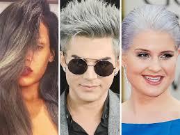 gray hair fad hair raising trend young celebs continue to go gray today com