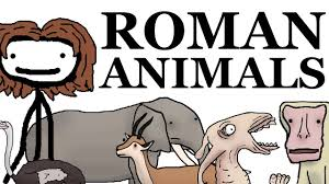 exotic animals in ancient rome youtube