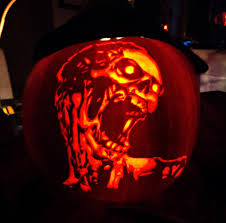 oogie boogie pumpkin carving ideas pumpkin carving zombie pumpkin carving by ashleymenard122 on