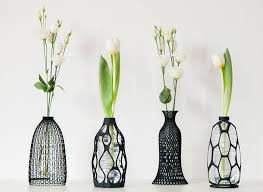 Vase Made From Plastic Bottle These Sculptural Vases Are Designed To Use An Old Plastic Bottle