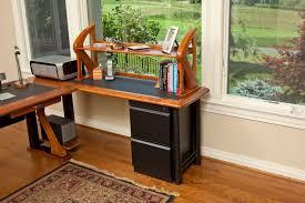 Modern Computer Desks Diy Metal Desk With File Cabinet U2014 All Home Ideas And Decor