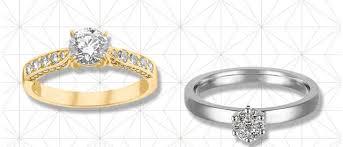 verlobungsringe gold diamant diamantringe kaufen bei de gratisversand