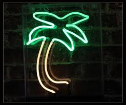 palm tree neon light palm tree neon sign 1