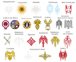 dragon age symbols and meanings google search bioware
