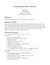 cna resumes exles resume cna resume exles with experience for cna