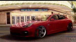 porsche panamera turbo red porsche panamera for gta san andreas