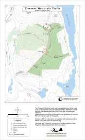 maine by foot pleasant mountain denmark and bridgton