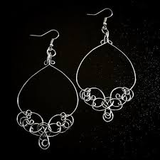 Wire Chandelier Earrings 1 The 25 Best Wire Chandelier Ideas On Pinterest Zinc Uses