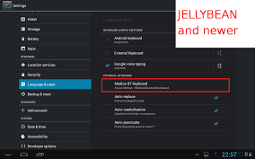 add language to android external keyboard android apps on play