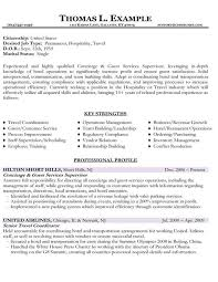 Resume Examples For Hospitality by Resume Samples Types Of Resume Formats Examples And Templates