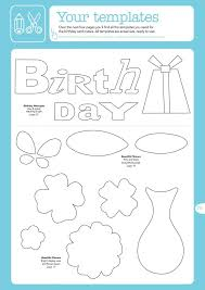 36 best birthday cards templates images on pinterest card