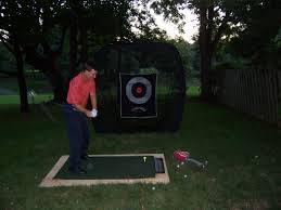 the backyard range is open all about golf