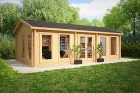 summer c cabins großes gartenhaus c 30m2 70mm 4x8 gartenideen pinterest